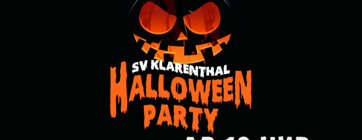Halloween Party im Clubheim